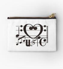 I LOVE MUSIC Studio Pouch