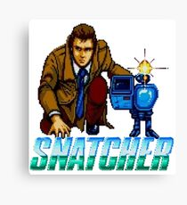 Snatcher - SEGA CD Canvas Print