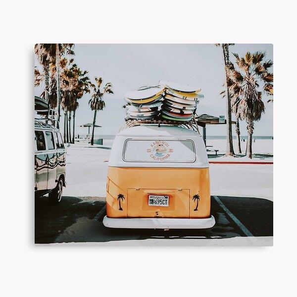 Let's Surf Canvas Print