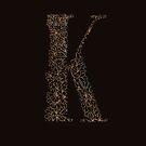 K is for Kaffir Lily  - Floral Alphabet by Sydney Koffler