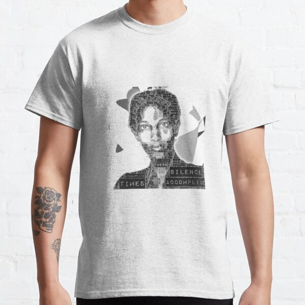 """International Women's Day. """"There are times when silence becomes an accomplice to injustice"""". Ayaan Hirsi Ali. Classic T-Shirt"""