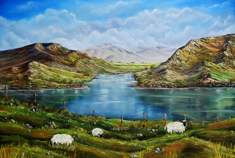 Quot Quot Connemara Spring Ireland Quot Oil Painting Quot By Avril