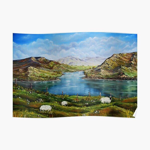 """Connemara Spring, Ireland"" - oil painting Poster"