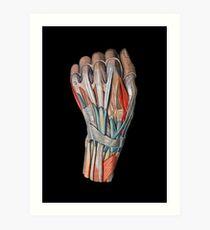 Sleight of Hand Art Print