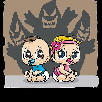 BABY HAUNTED BY GHOST Nightmare Babies Spooky by Moonpie90