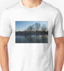 Icy Cool Blue Reflections T-Shirt