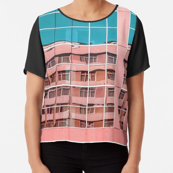 Summer in the City Chiffon Top