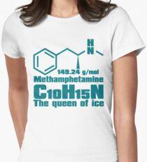 Methamphetamine Womens Fitted T-Shirt