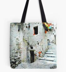 Glimpse with staircase Tote Bag