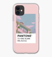 PANTONE 90er Jahre Anime iPhone-Hülle & Cover