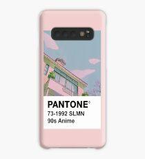 PANTONE 90er Jahre Anime Hülle & Klebefolie für Samsung Galaxy
