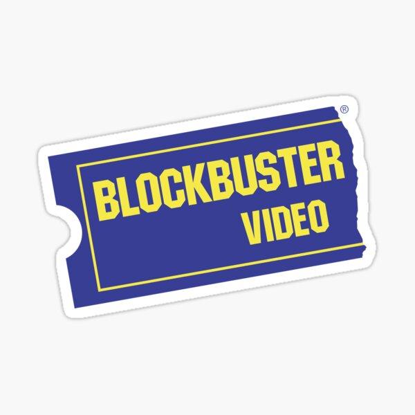 Blockbuster Video Sticker