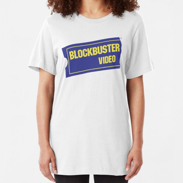 Blockbuster Video Slim Fit T-Shirt