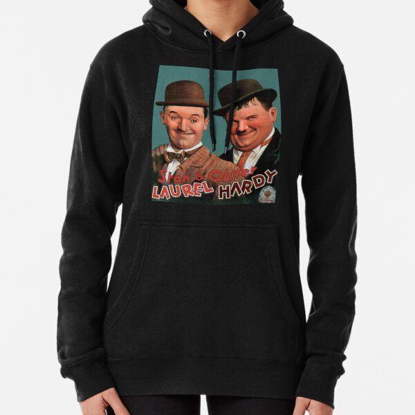 STAN & OLIVER. Laurel and Hardy. Movie Poster. Pullover Hoodie