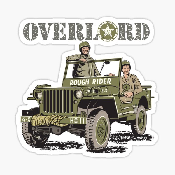 D-DAY Operation Overlord, Rough Rider GP Sticker