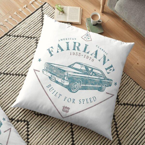 Ford Fairlane 1967 - Built for Speed Floor Pillow