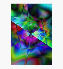 Modern abstract background Photographic Print