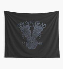 Shovelhead Motorcycle Engine Wandbehang