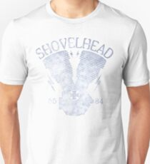 Shovelhead Motorcycle Engine Slim Fit T-Shirt