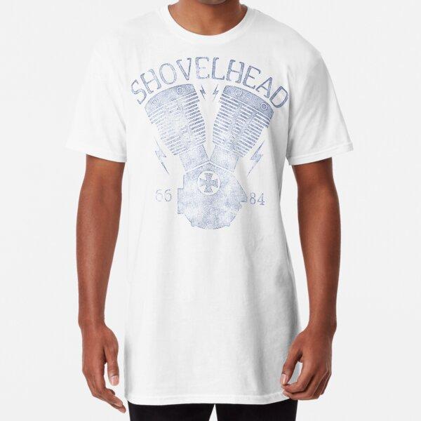 Shovelhead Motorcycle Engine Long T-Shirt
