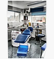 Dentist Chair Poster