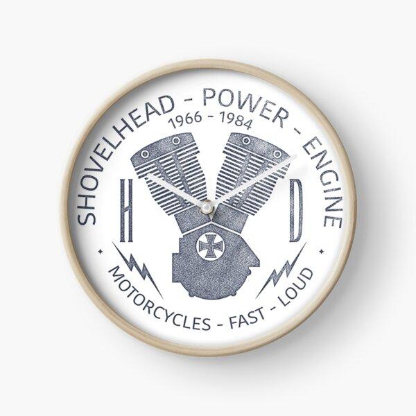 Harley Davidson Shovelhead Power 1966 - 1984 Uhr