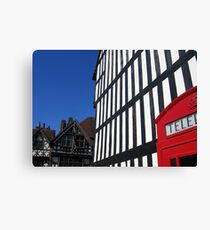 Sheep Street, Stratford-upon-Avon, England Canvas Print