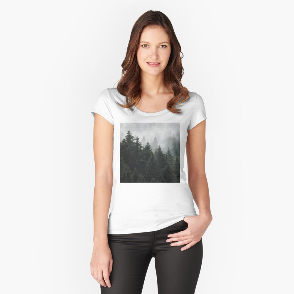 Waiting For Fitted Scoop T-Shirt