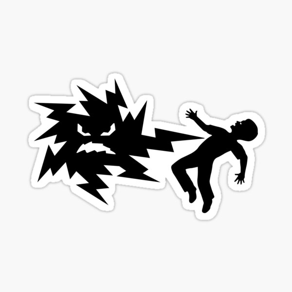 Mr. Ouch Sticker
