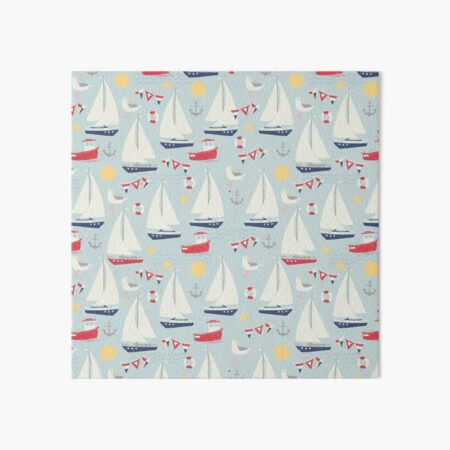 Ahoy there! Art Board Print
