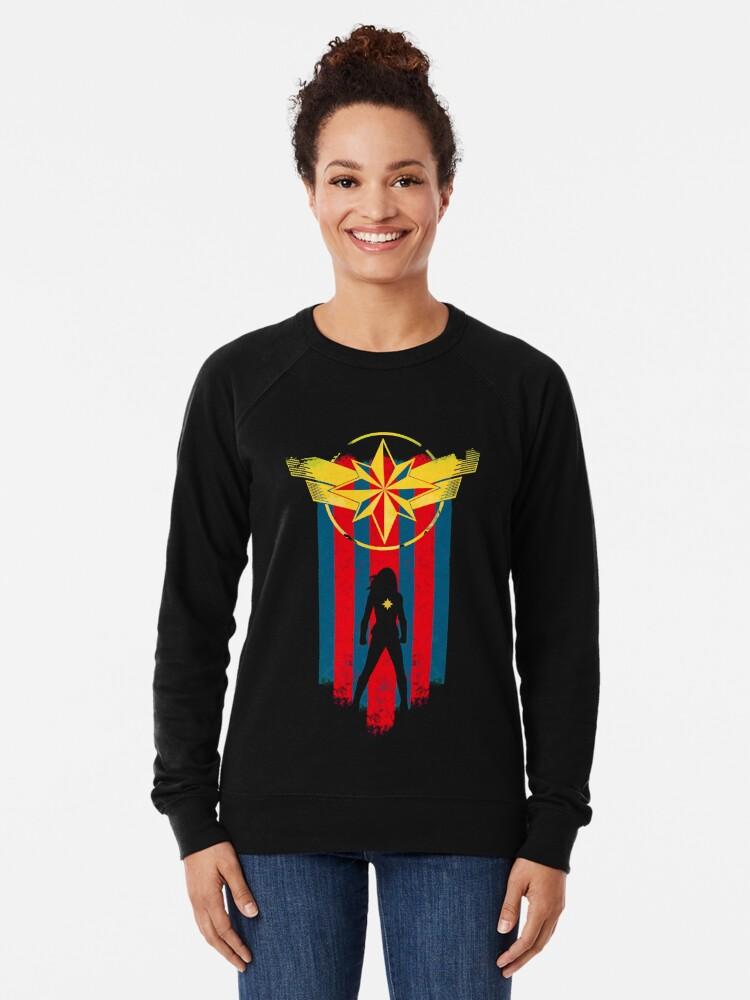 Alternate view of A Real Heroine Lightweight Sweatshirt