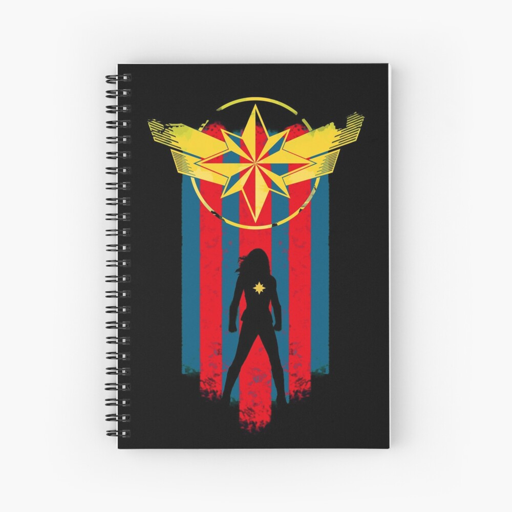 A Real Heroine Spiral Notebook