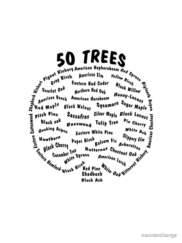 Arbor Day, Tree Species Gift Shirt. by maxxexchange