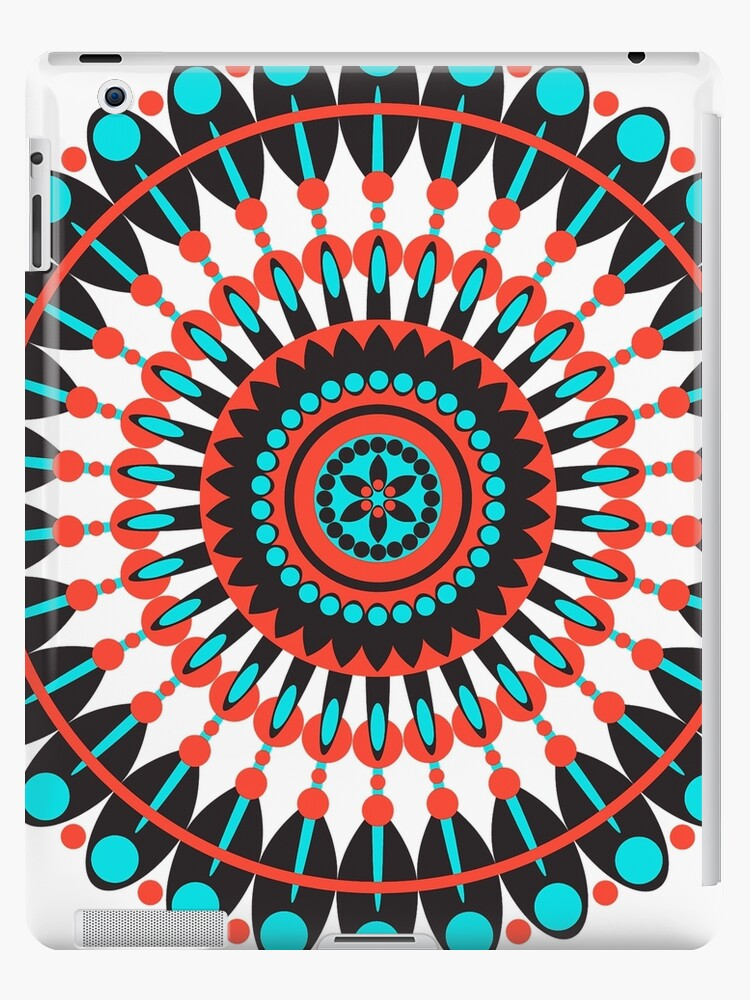 Native American Mandala Ipad Case Skin By Frankiecat Redbubble