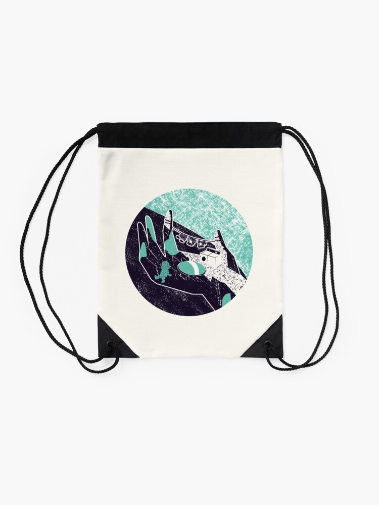 Alternate view of On the hand Drawstring Bag