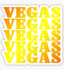 Golden VEGAS  Sticker