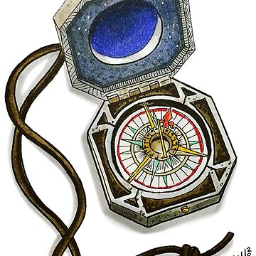 The Magic Compass by Wildharegrafix