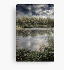 At Least I've Got The Clouds Canvas Print