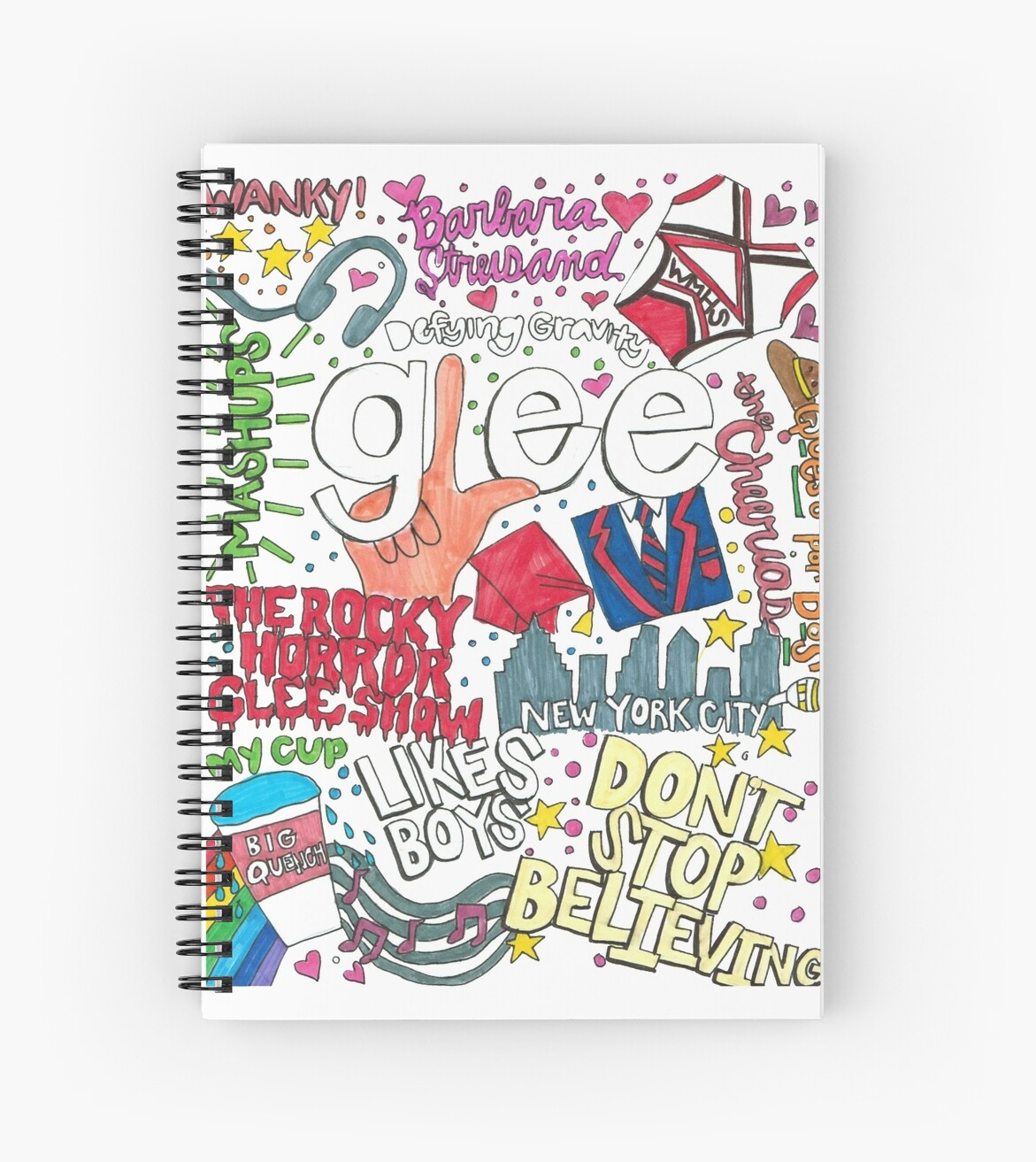 Glee Collage 1 by Colormecrazy