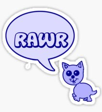 Rawr Kitty  Sticker