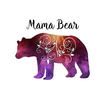 Mama Bear | Mothers Day | Birthday Gift for Mom by PraiseQuotes