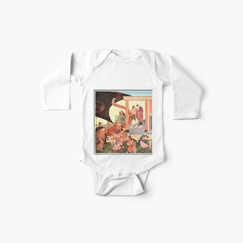 Prince Theseus Edmund Dulac Tanglewood Tales Baby One Piece