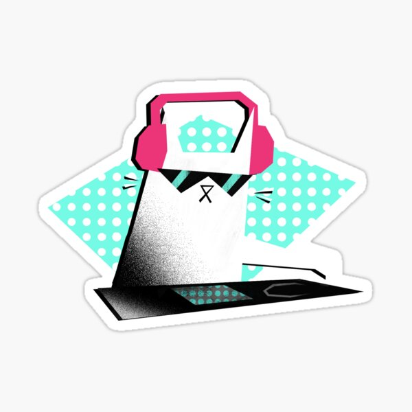 House cat Glossy Sticker