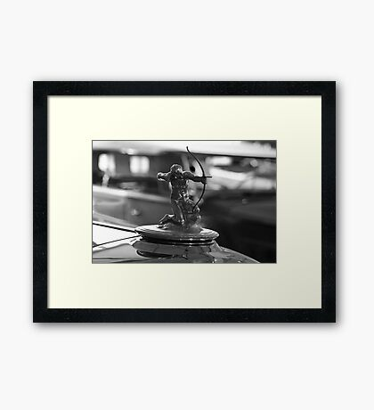1933 Pierce Arrow V12 Convertible Coupe Framed Print