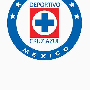 Cruz Azul Logo T-Shirt by onenil