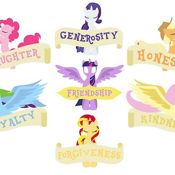 The 7 Elements of Harmony by MidnightSt4r