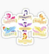 The 7 Elements of Harmony Sticker