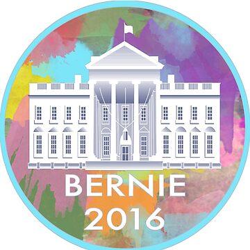 Bernie 2016 White House by feelthebern