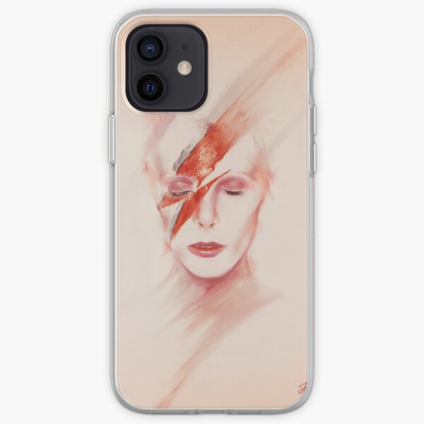 David Bowie Icon Portrait iPhone Flexible Hülle