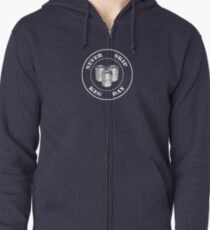 Never Skip Keg Day! Zipped Hoodie